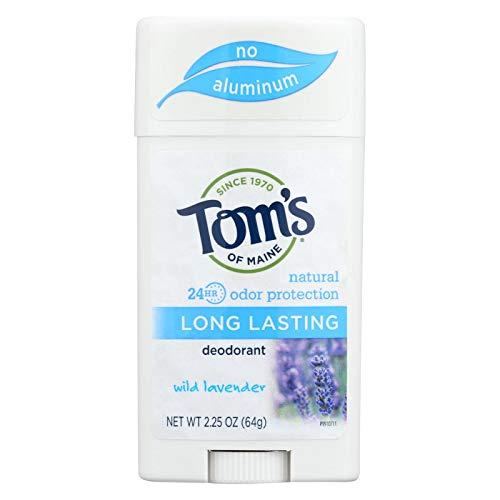Tom's of Maine Natural Long-Lasting Deodorant Wild Lavender - 2.25 oz - Case of 6