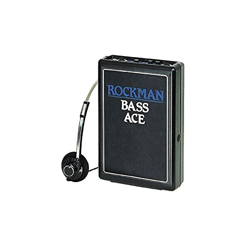 Rockman Bass Ace Headphone Amplifier by Jim Dunlop
