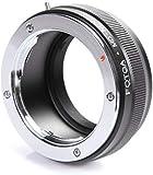 Fotga Adapter Ring for Minolta MD Lens to Sony E Mount A7 A7R A7S A7II A6500 A6300 A6000 A5100 A5000 A3000 NEX-7 NEX-6 NEX-5 NEX-5N NEX-5R NEX-5T NEX-3 NEX-VG10 NEX-VG20 Camera