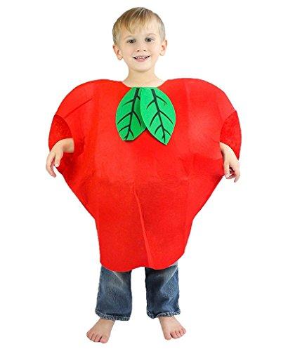 Red Apple Child Costumes (Petitebella Halloween Xmas Fruit Vegetables Unisex Costume Party Dress Clothing (Apple))