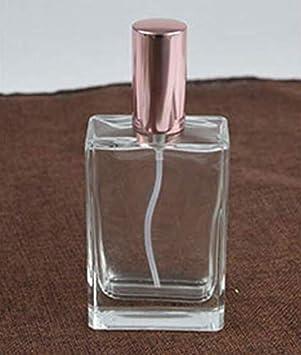 Botella de viaje atomizador de cristal vacío spray dispensador botella perfume botella de aire (100 ml al azar): Amazon.es: Belleza