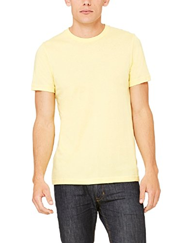 THE ARCHER Men #39;s Round Neck Yellow T Shirt