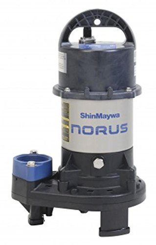 ShinMaywa Norus 4800GPH 1/3HP Submersible Garden Pond Waterfall Pump | 50CR2.25S