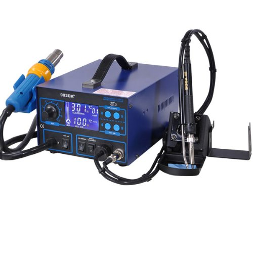 Easy Soldering Iron Station With LCD Dynamical Display detail review