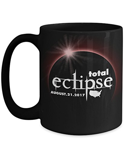 Total solar eclipse Mugs, Path of totality the colorful Version 11 oz - 15 oz Ceramic Coffee mugs, Tea cups - Funny Gift for Family, Friend on August 08 21 - Solar For Special Sunglasses Eclipse