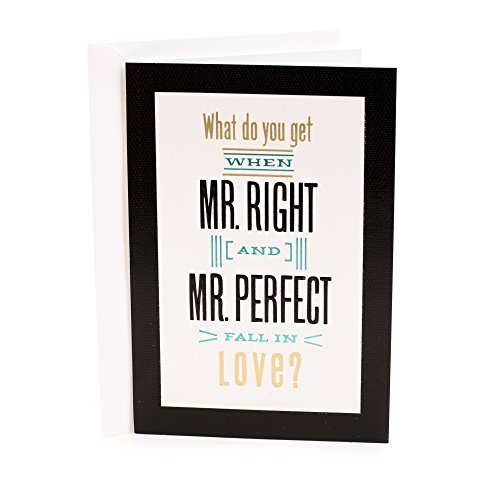 Hallmark Wedding Card for Two Grooms (Perfectly ()