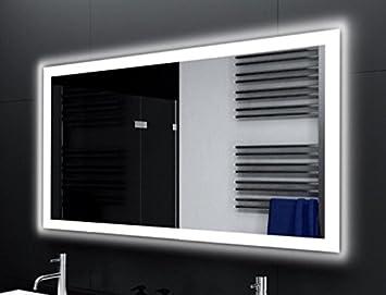 Badspiegel Designo Ma4110 Mit A Led Beleuchtung B 120 Cm X H