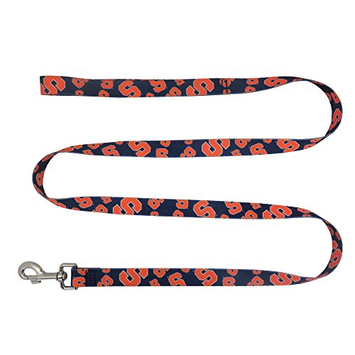 Littlearth NCAA Syracuse Orange Team Pet Lead, 1-inch by 60-inches by Littlearth