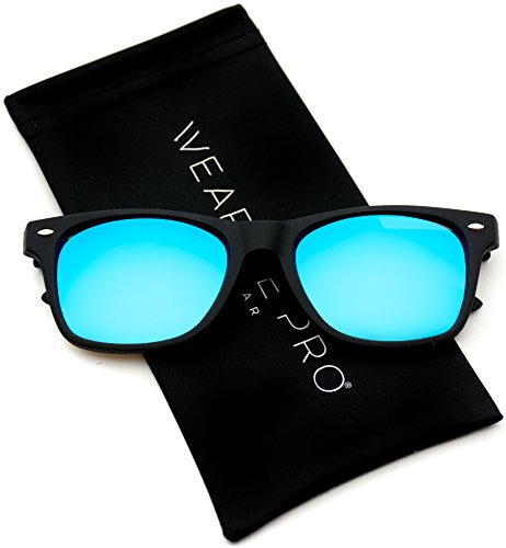 nbsp;grandes de Pro Azul con WearMe lentes reflectantes Color carey de con sol Revo montura Gafas qwXqHZE1