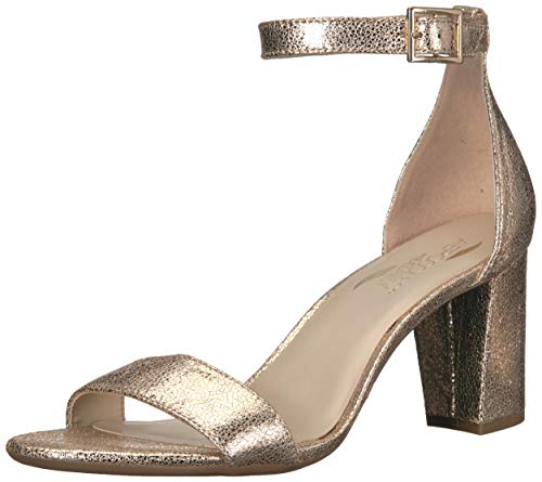 rd of Paradise Heeled Sandal, Gold Leather, 10 M US ()