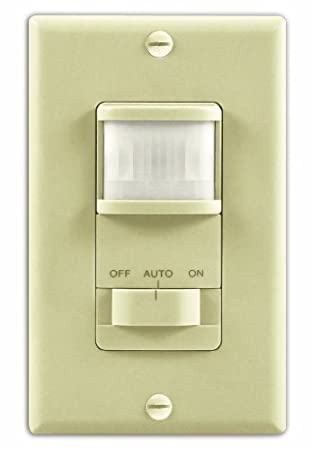 Amazon heathzenith sl 6117 iv motion activated wall light heathzenith sl 6117 iv motion activated wall light switch ivory mozeypictures Choice Image