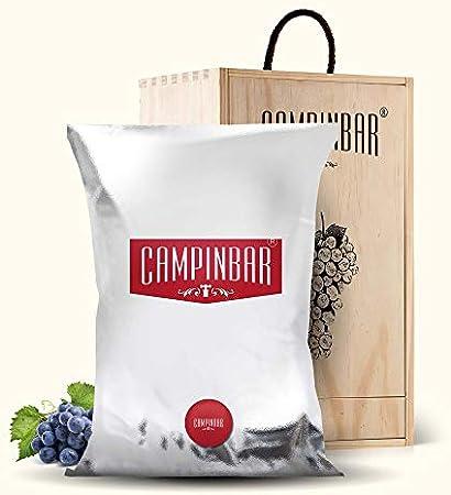 Bag in box vino - Recarga para Campinbar® 5 Litros (Tinto Garnacha)