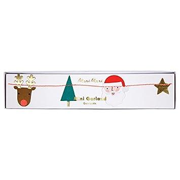 Meri Meri Festive Icons Mini Girlande Weihnachten Deko 2,9 M