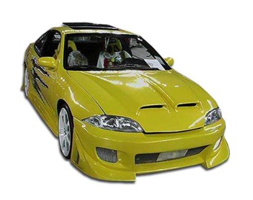 - Duraflex ED-AFP-105 Blits Front Bumper Cover - 1 Piece Body Kit - Compatible For Chevrolet Cavalier 2000-2002