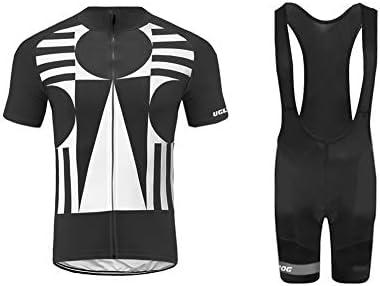 4293f6865671 Uglyfrog Abbigliamento Ciclismo Set Estivo Maglie Ciclismo Maniche  Corte+Salopette Ciclismo Squadra Professionale XSNX02S