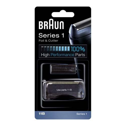 COMBI PACK 11B Series1, noir (référence 81299975) Braun