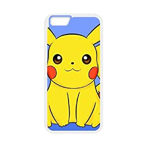 iPhone 6 Plus 5.5 Inch Cell Phone Case White Super Smash Bros Pikachu 011 Pkxdj