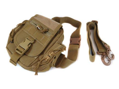 Monstrum Tactical All-Purpose Sling/Fanny/MOLLE Pack (Desert Tan)