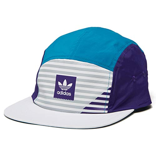 adidas Action Sports Acc Hw Sports Headbands, White/Collegiate Purple/Active Teal/Grey Two F17, One Size (Active 5 Panel Hat)