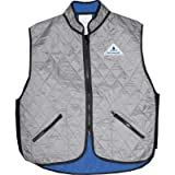 TechNiche HyperKewl Deluxe Sport Vest – 6530SIL-S ( Small – Grey/Silver )