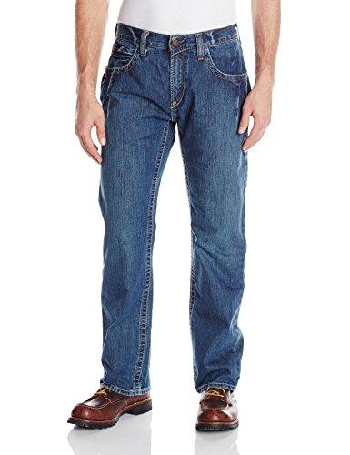 Ariat Men's Flame Resistant M5 Slim Fit Straight Leg Shirt, Clay, 38x30
