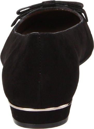 Geox Bailarinas Mujer 35 EU Negro Gamuza AD560-B