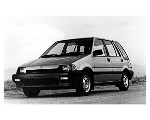 1985 Honda Civic Station Wagon Photo Poster