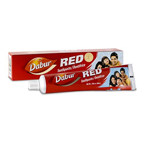 Dabur Red Toothpaste - 200g (Pack of 3)