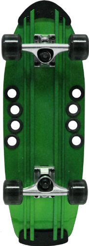 Beercan Boards 24-Inch Micro Brewster Complete Skateboard, Green
