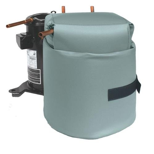 Compressor Sound Blanket - Fits Scroll and reciprocating compressors. Maximum Size: 10'' x 10'' x 19'' high.
