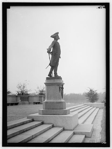 Photo: FREDERICK THE GREAT. KING OF PRUSSIA,1712-1786. STATUE OF - Of Map Prussia King