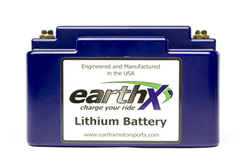 EarthX ETX18F Blue Light Weight LiFePO4 Complete Battery ...