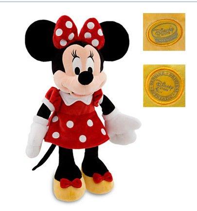 Amazon.com: Original Minnie Plush Peluche Mickey-Mouse Stuffed Animals Toy 45-48CM,Kids Toys Christmas,Birthday Gift Soft Toys for Children: Baby