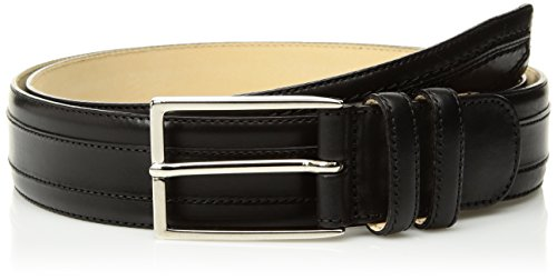 Mezlan Men's Belts Men's Hundley Rama Belt, black, B360 (Mezlan Black Belt)