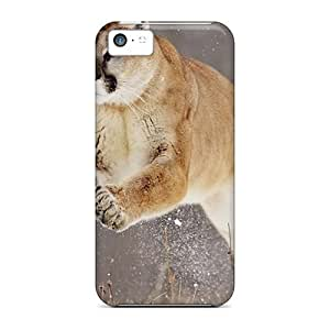 Ideal Mycase88 Cases Covers For Iphone 5c(jumping Cougar), Protective Stylish Cases