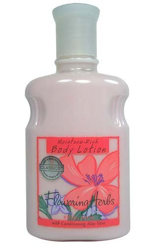 Bath & Body Works Classics Flowering Herbs Moisture Rich Body Lotion 8 (Flowering Herb)
