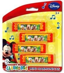 Mickey Mouse Clubhouse 4Pk Harmonica