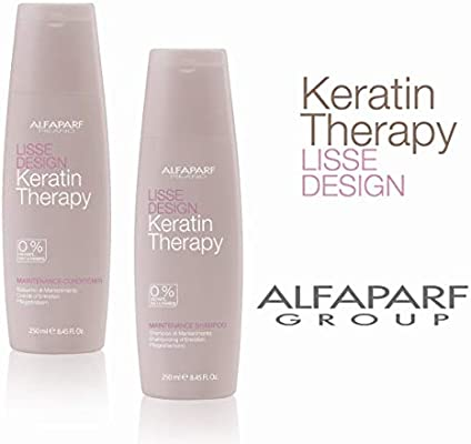 AlfaParf Lisse Design Maintenance Shampoo and Conditioner Duo, 8 45 Ounce