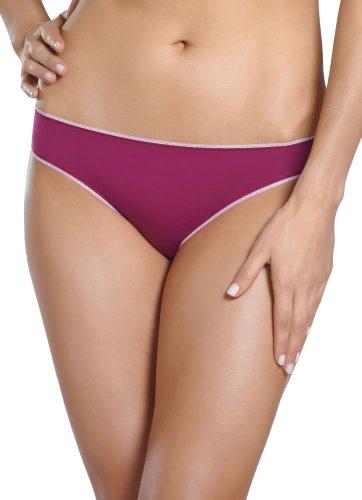 Jockey Women's Underwear Cheeky Modal Bikini, Violet Haze, L
