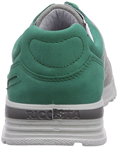 Ricosta - Carter, pantofole da unisex bambino, grigio (grau (smaragd/hellgrau 586)), 35