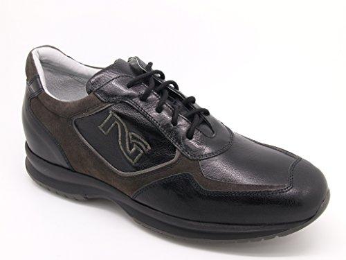 Nero Giardini stringate-Zapatillas para hombre, piel