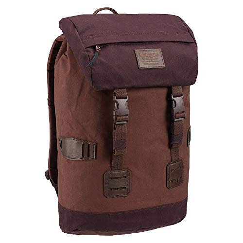 Burton Tinder Backpack, Cocoa Brown Waxed Canvas, One Size