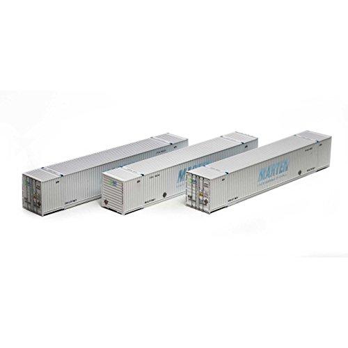 Athearn ath72589Ho RTR 53` CIMCコンテナ、COFC Logistics/グレー(3)