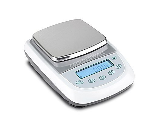 CGOLDENWALL TDA1 High Precision lab Digital Analytical Electronic Balance Analytical Laboratory Jewelry ScalesPrecision Gold Scales Kitchen Precision Weighing Electronic Scales 0.1g CE (3000g, 0.1g)