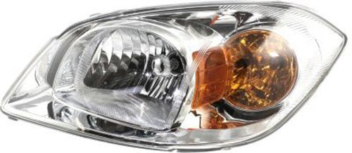 Crash Parts Plus Driver Left Side Headlight Headlamp for 05-10 Chevrolet Cobalt, 07-09 Pontiac G5