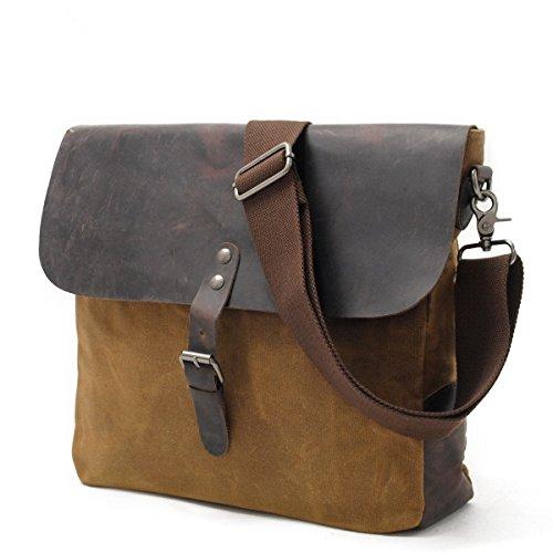 Neu, Retro-, Persönlichkeit, Mode, Outdoor-Tasche, Segeltuch wasserdichte Tasche, B0103