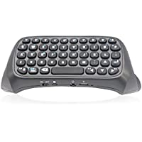 new Black Wireless Bluetooth Keyboard For PS4 Play Station 4 Controller
