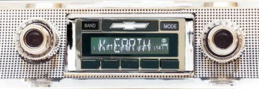 Custom Autosound USA-630 Vintage Style Radio for All Vehicle Types