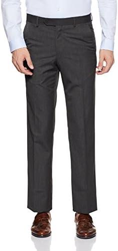 Van Heusen Men's Relaxed Fit Formal Trousers