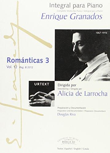 Descargar Libro Integral Para Piano : Románticas 3: 12 Enrique Granados